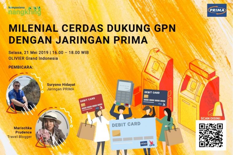 Milenial Cerdas Dukung GPN dengan Jaringan PRIMA, Yuk!