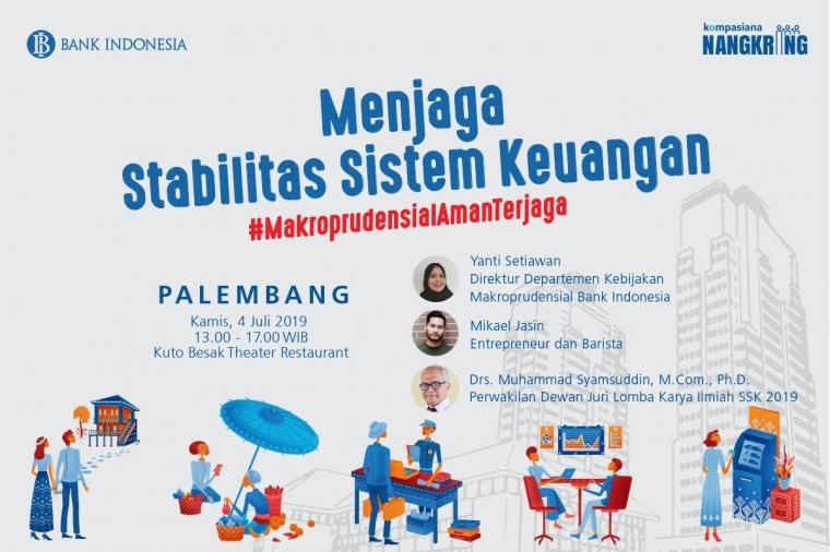[UPDATE] Anak Muda Palembang, Bersiaplah untuk Ngobrolin Makroprudensial Bareng Bank Indonesia