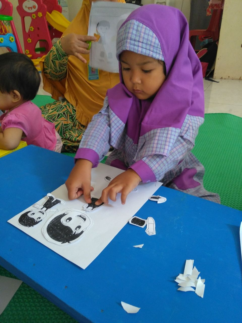 Mengenal Anggota Tubuh Melalui Gambar Pada Anak Usia Dini