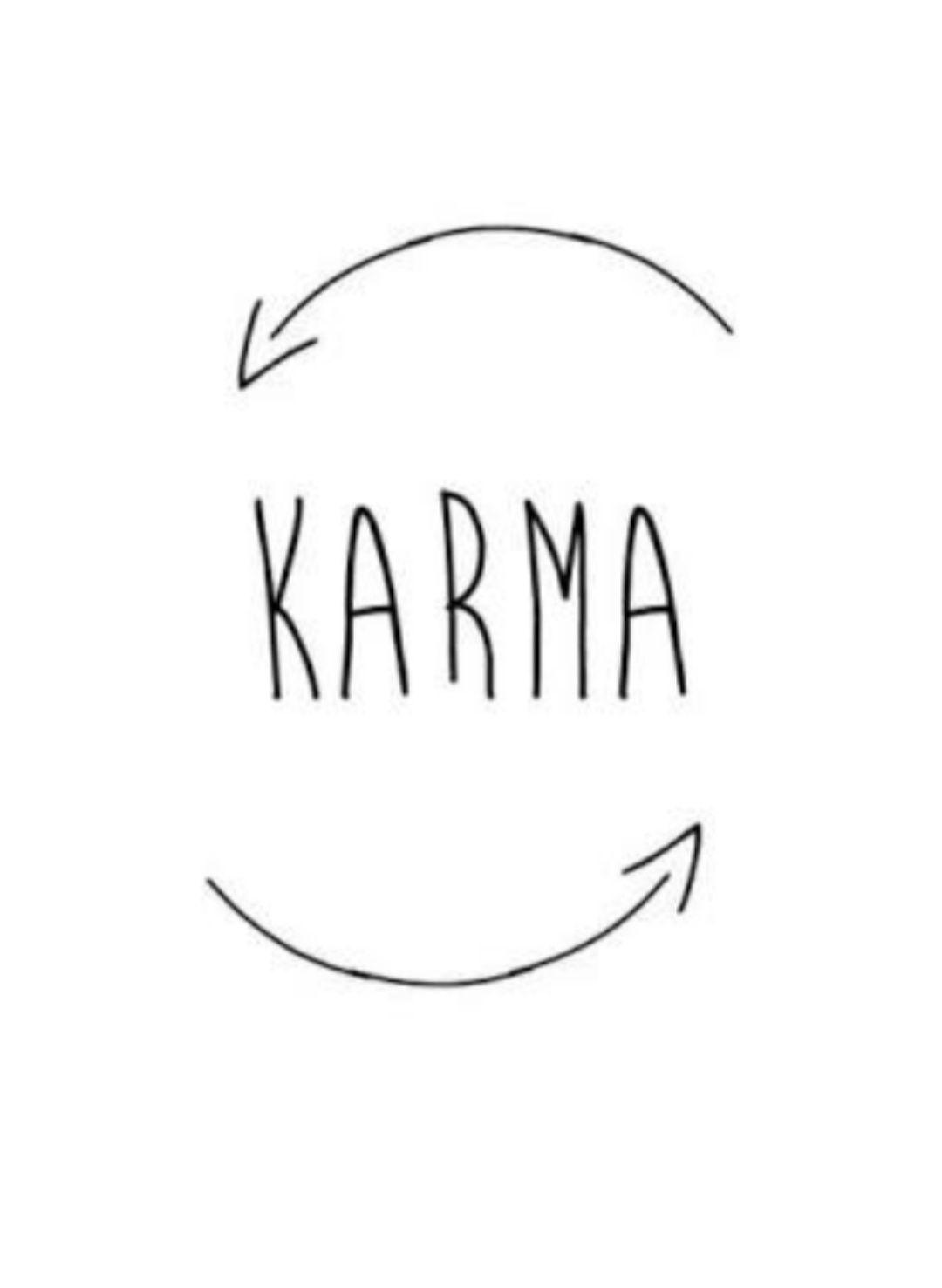 ketika banyak orang memakai kata karma apa sebenarnya karma