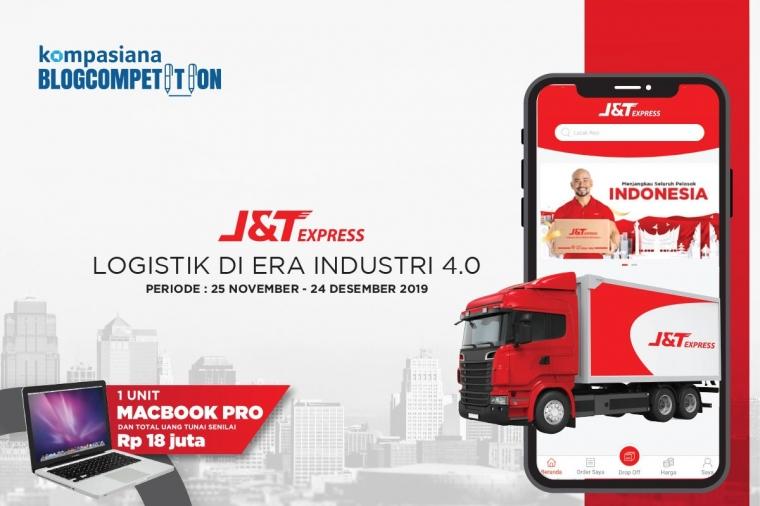 Yuk, Ikutan Blog Competition Logistik di Era 4.0 bersama J&T Express!