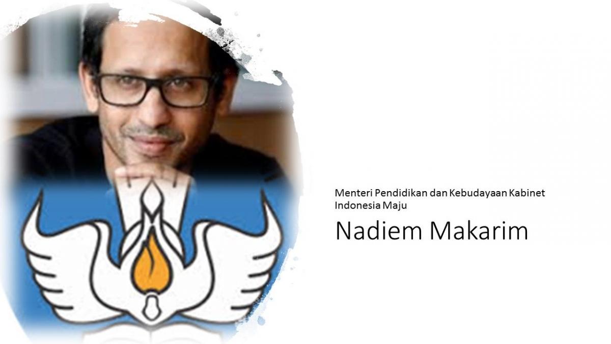 Image result for nadiem makarim hapus ujian nasional
