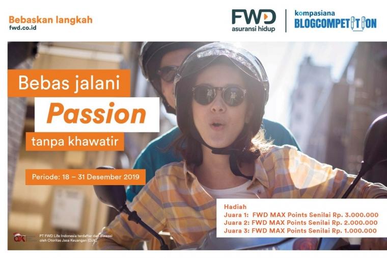 [BLOG COMPETITION] Bebas Jalani Passion Tanpa Khawatir dan Dapatkan Reward Jutaan Rupiah!
