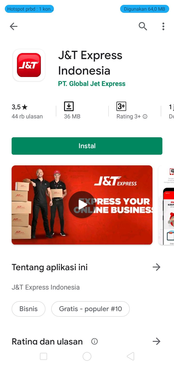 J T Express For Android Apk Download