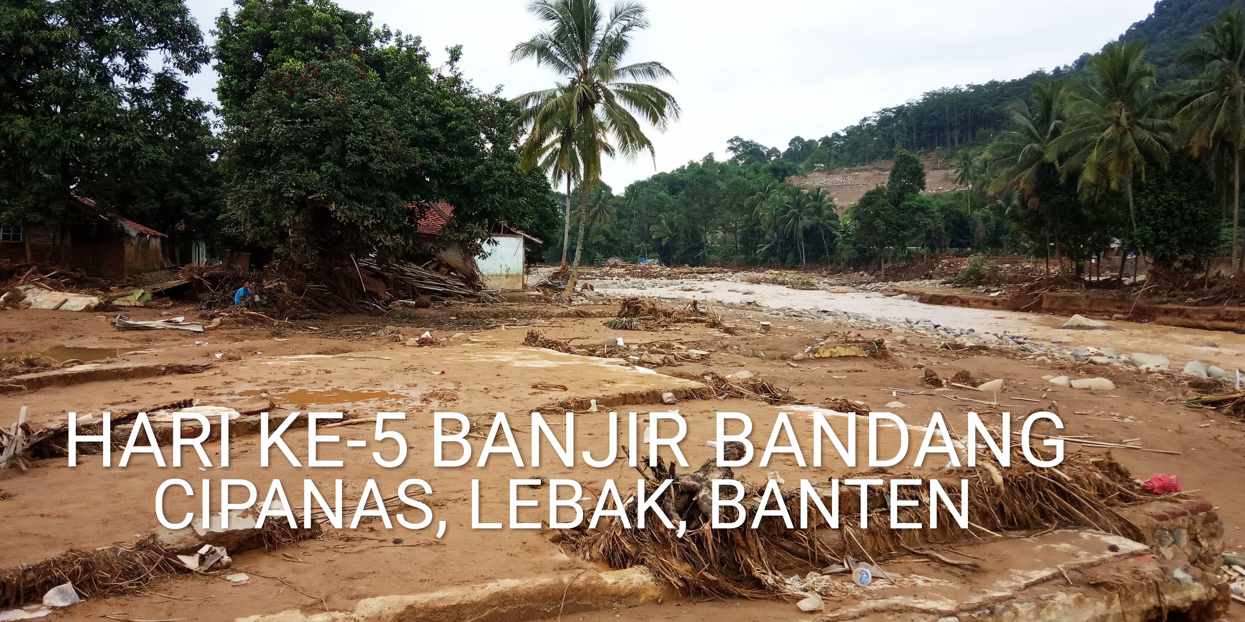 Arief P Suwendi Hari Ke 5 Pasca Banjir Bandang Cipanas