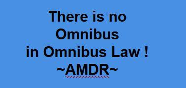 Kesalahan Penggunaan Istilah Omnibus Law Kompasiana Com