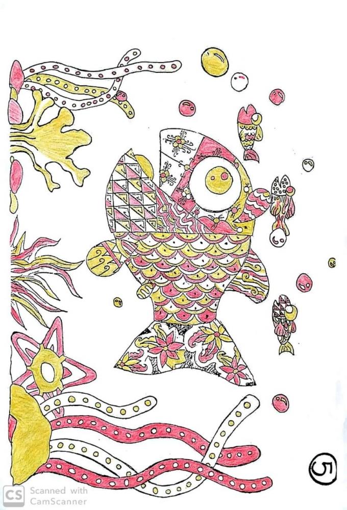 """""""Batik Ikan"""" Sebuah Desain Kreatif Siswa Sekolah Alam ..."""