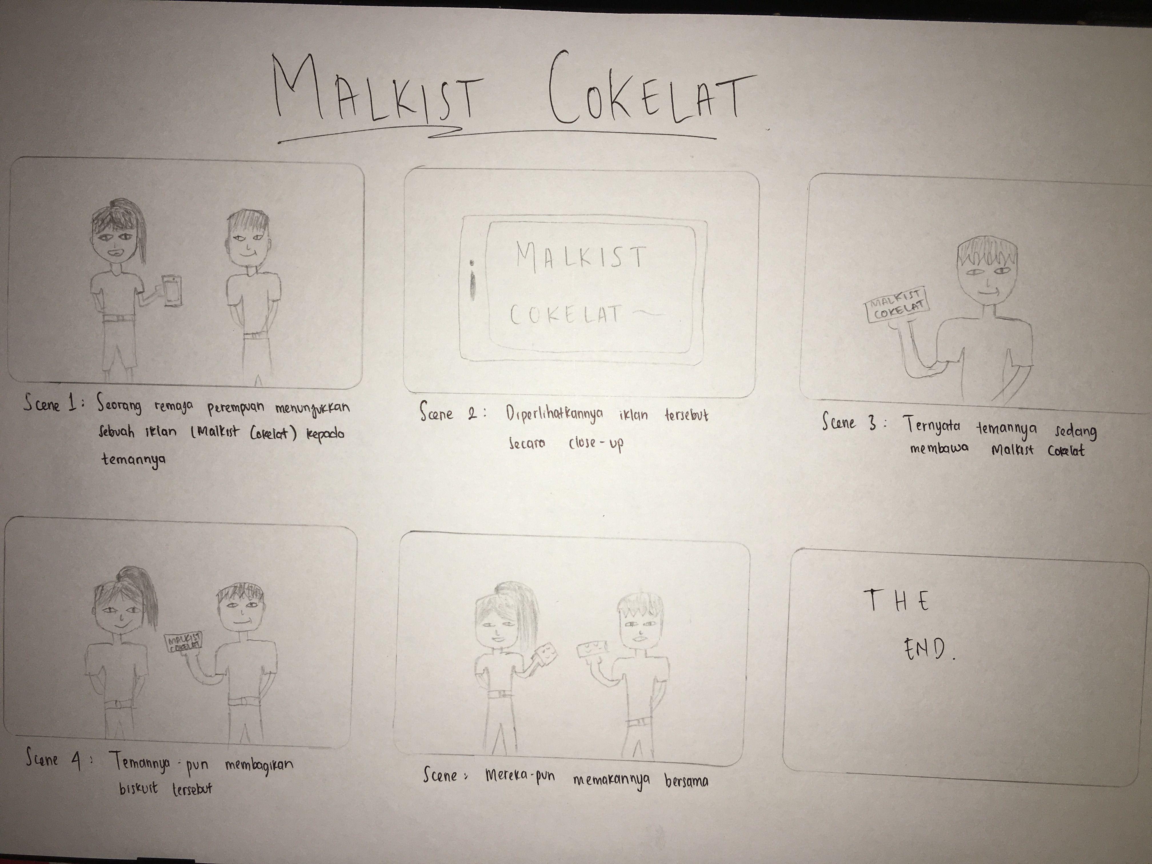 Storyboard Malkist Cokelat Kompasiana Com