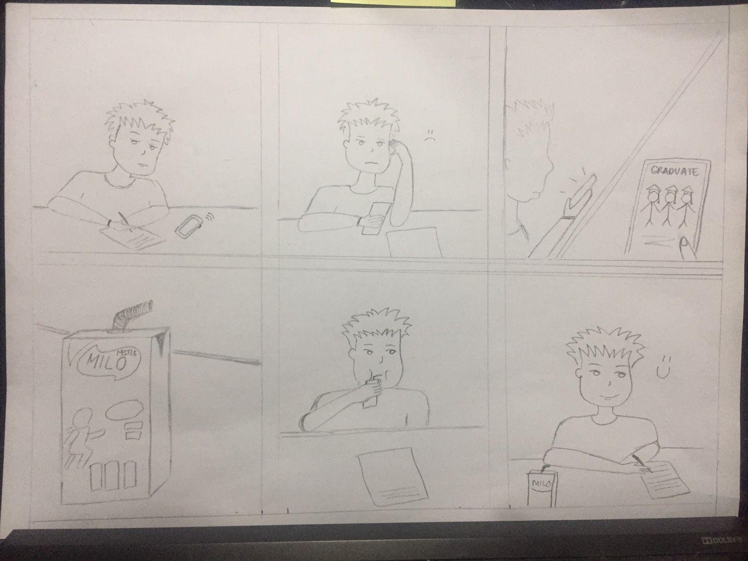 Storyboard Iklan Minuman