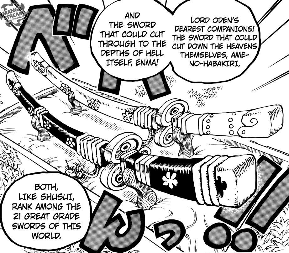 Pedang Legendaris Enma One Piece Halaman All Kompasiana Com