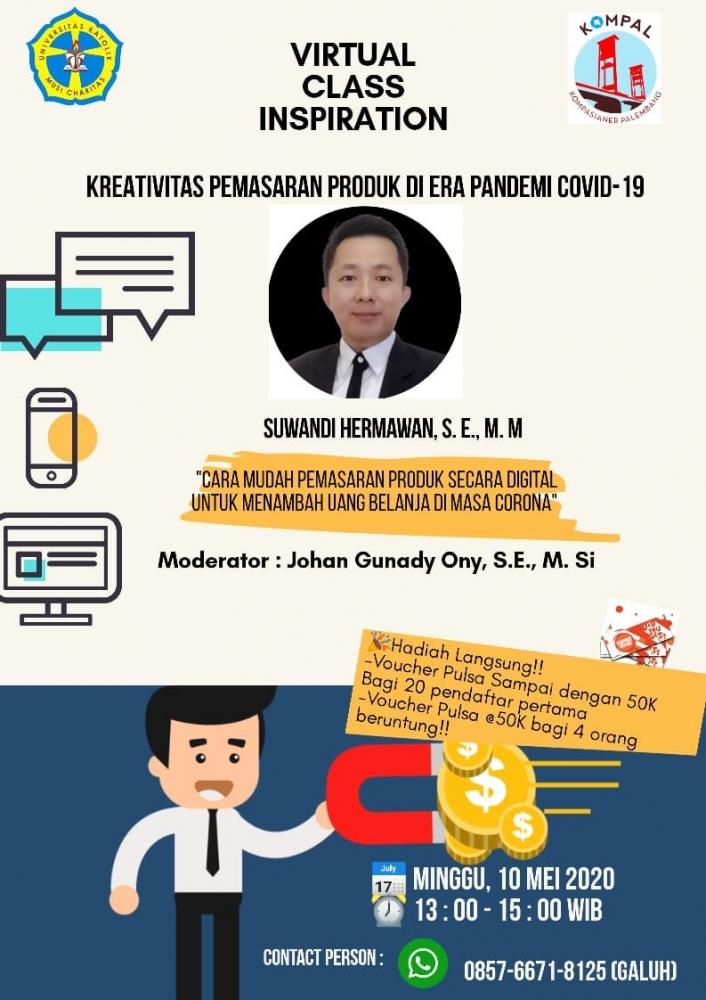 [Event Kompal] Webinar Kreativitas Pemasaran Produk Masa Pandemi Covid-19