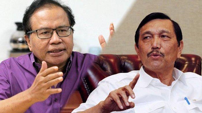 Rizal Ramli Tantang Luhut Berdebat, untuk Apa Om? Halaman 1 ...