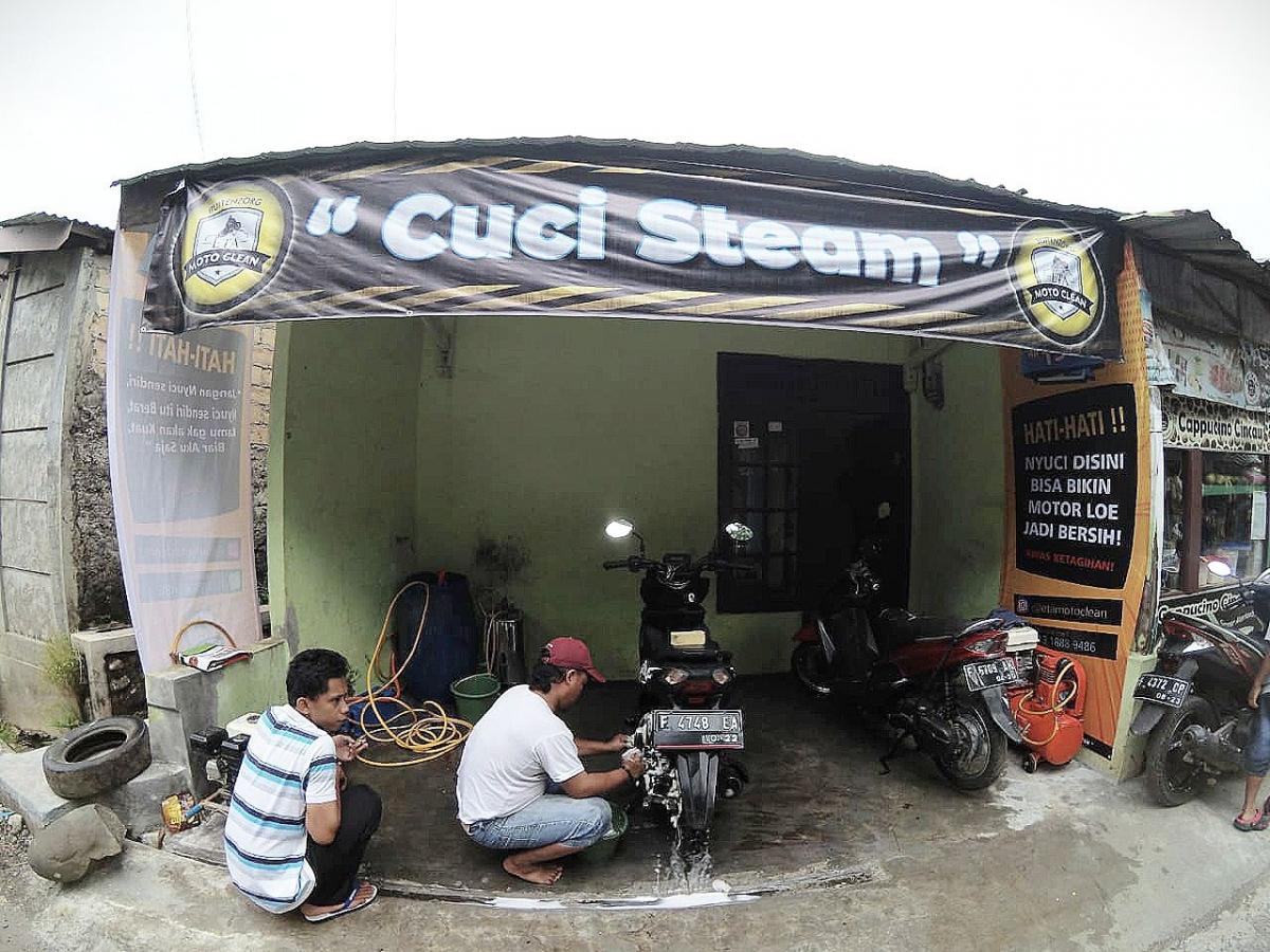 Jasa Cuci Steam Motor sebagai Alternatif Usaha dengan ...