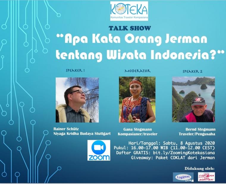 Cari Tahu Apa Kata Orang Jerman tentang Wisata Indonesia Sabtu Ini
