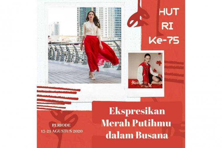 [Ladiesiana Online Event] Ekspresikan Merah Putihmu dalam Busana