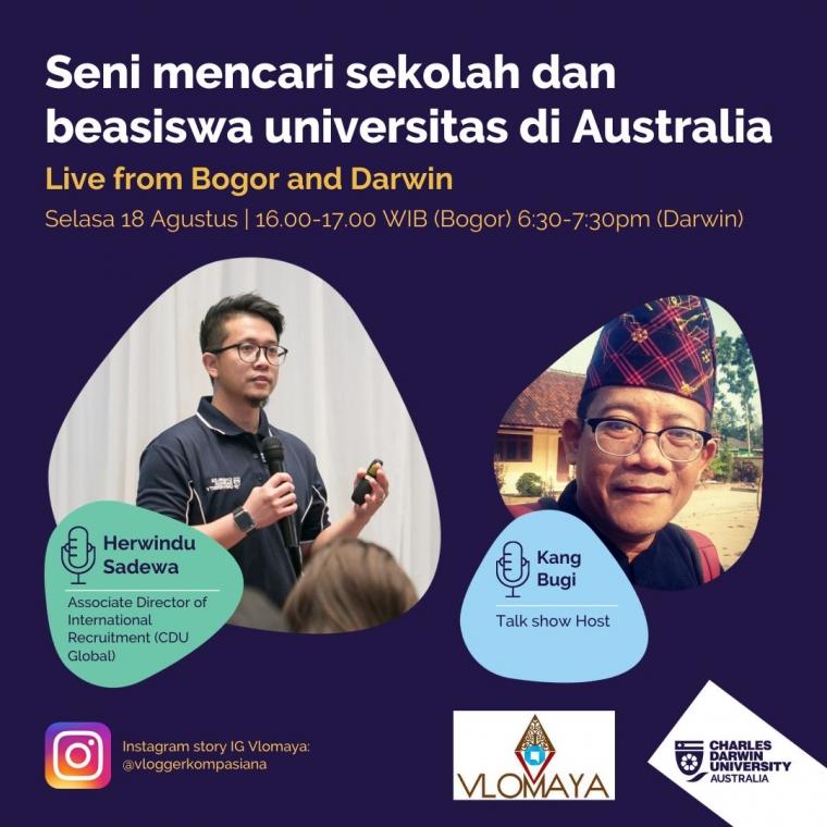 [Bincang Online] Seni Mencari Sekolah dan Beasiswa Universitas di Australia