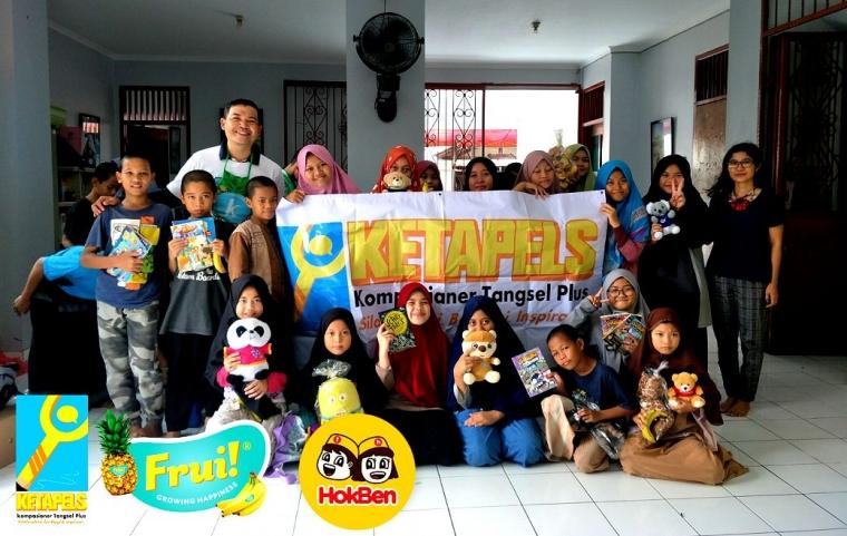Sambang Ketapels, Teman Ketapels Distribusi Donasi Mainan dan Buku Cerita
