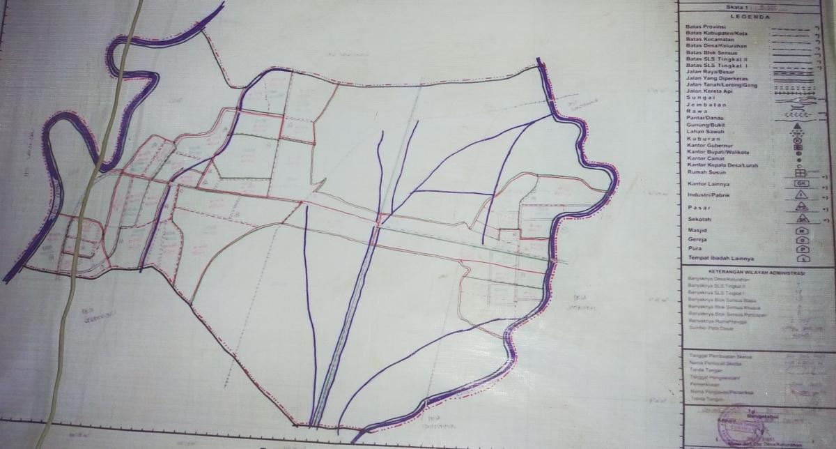 Mengenal Peta Desa, Bagaimana Cara Memahaminya ...