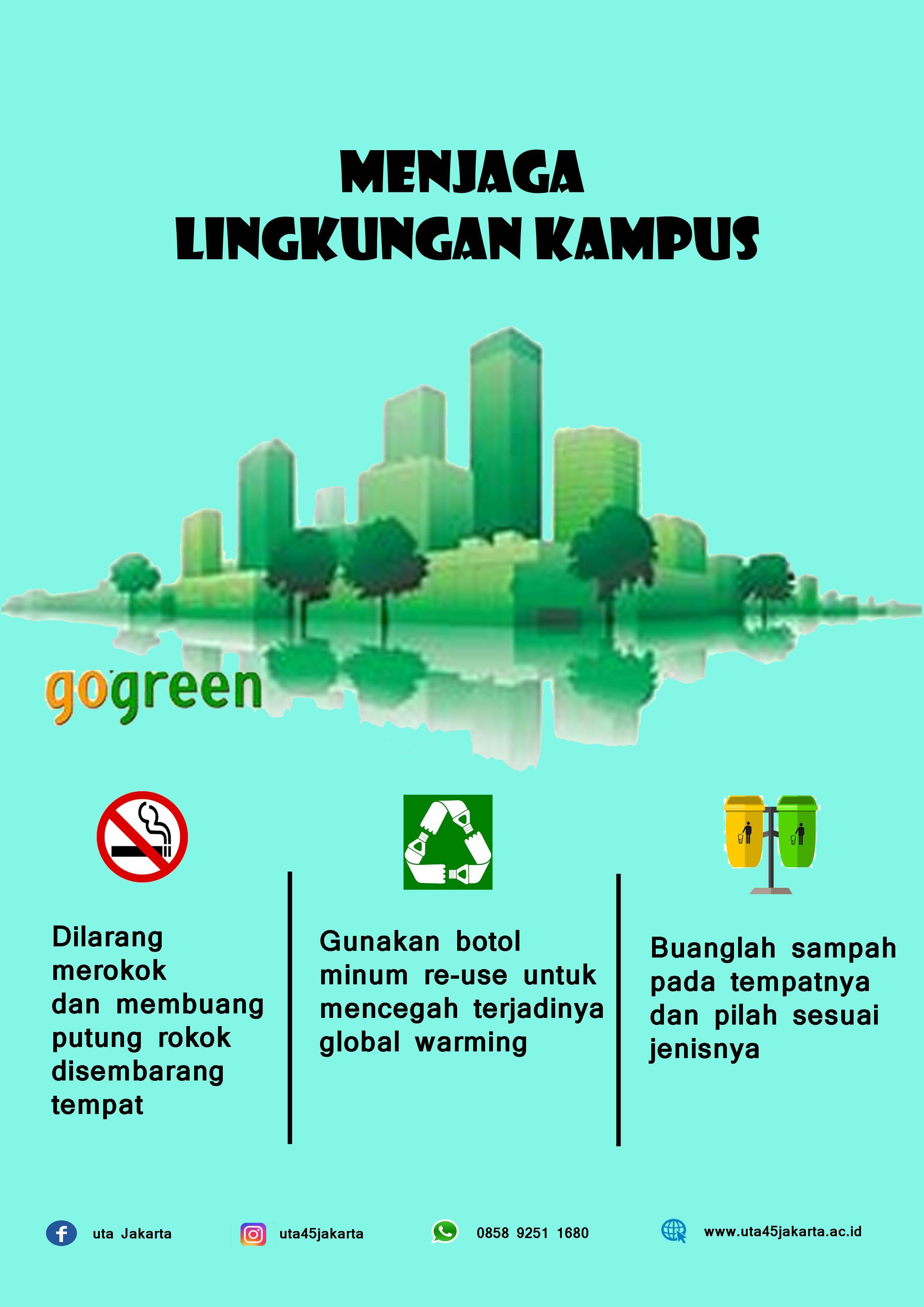 Artikel Poster Menjaga Lingkungan Kampus Halaman 1 Kompasiana Com