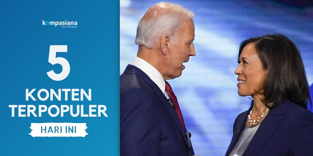 3 Sejarah Baru, Joe Biden dan Kamala Harris Menuju Ibu ...