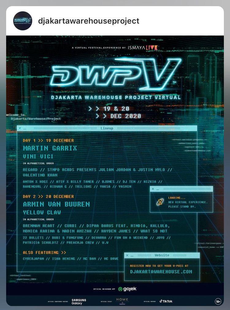 Edisi Virtual Djakarta Warehouse Project V 2020 Diselenggarakan Gratis Halaman All Kompasiana Com