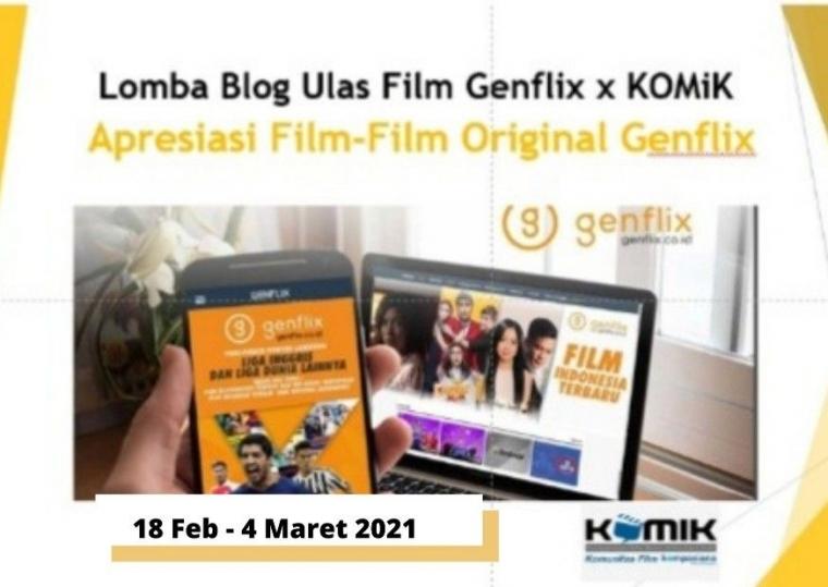"Lomba Blog ""Apresiasi Film-Film Original Genflix"""
