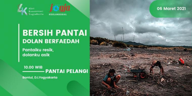 [KJOG] Yuk Volunteer, Ikutan #BersihPantai bareng Komunitas Aksi Konservasi Yogyakarta