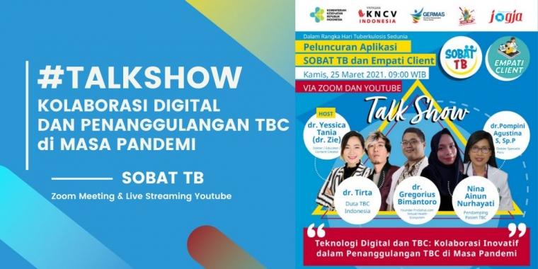 [KJOG] Ikuti #Talkshow Kolaborasi Digital dan Penanggulangan TBC bareng dr. Tirta