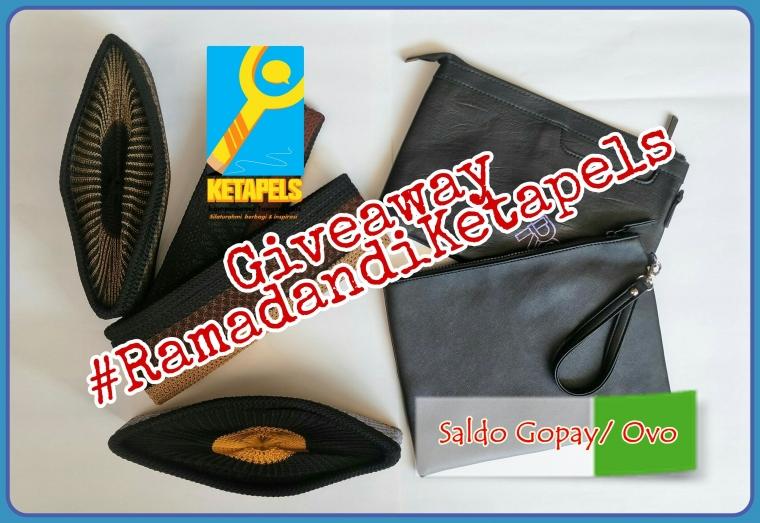 Giveaway #RamadandiKetapels Berhadiah Peci Rajut dan E-wallet