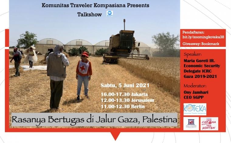 Simak Rasanya Bekerja di Jalur Gaza Palestina di Zoom Koteka