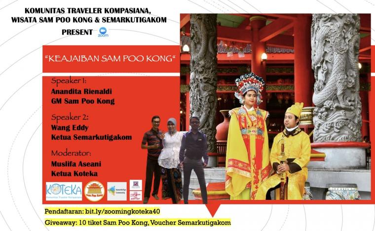 Sabtu Ini Kita Rame-rame ke Sam Poo Kong, Semarang