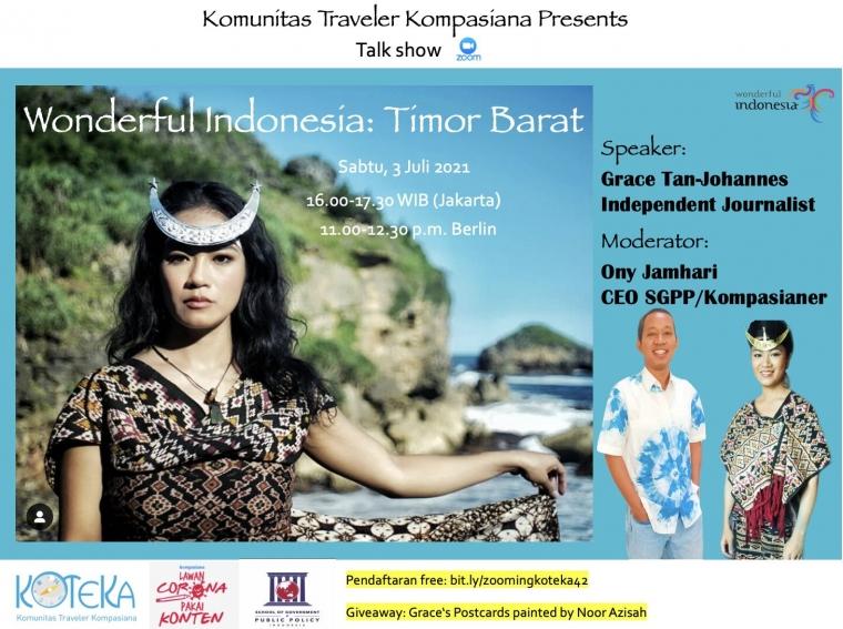 Mari Ngobrol Keindahan Timor Barat Sabtu Ini!