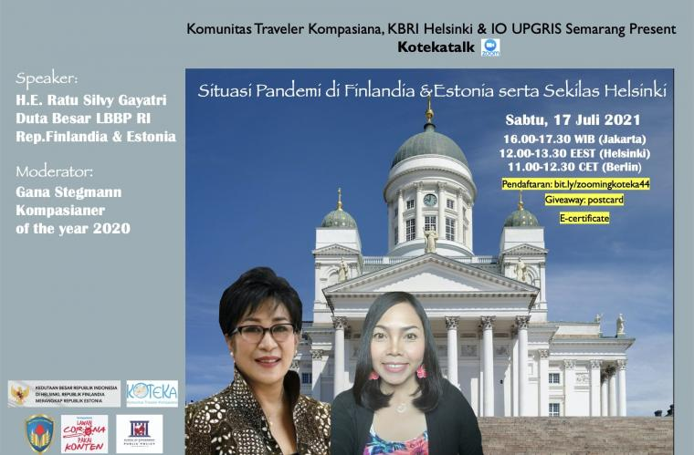 Sabtu Ini Koteka Ajak Kalian ke Helsinki, Finlandia!