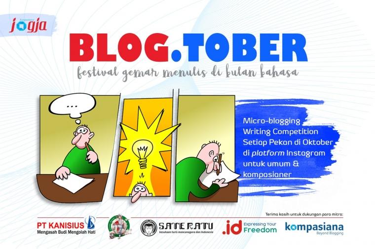 [KJOG] BLOG.TOBER, Festival Gemar Menulis di Bulan Bahasa