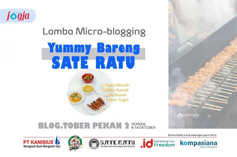 "[KJOG] Lomba Microblogging ""Yummy Bareng Sate Ratu"""