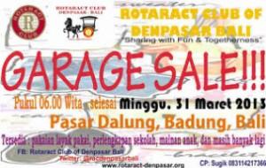 Rotaract Club Of Denpasar Bali Mengadakan Garage Sale Untuk Kegiatan Sosial Kompasiana Com
