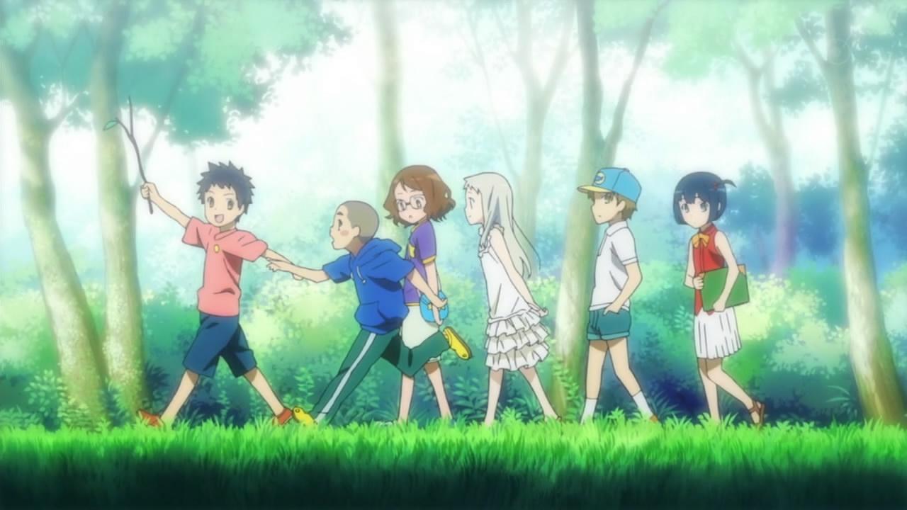 Ano hana anime persahabatan yang bikin banjir air mata oleh okky riyan lafinzha kompasiana com