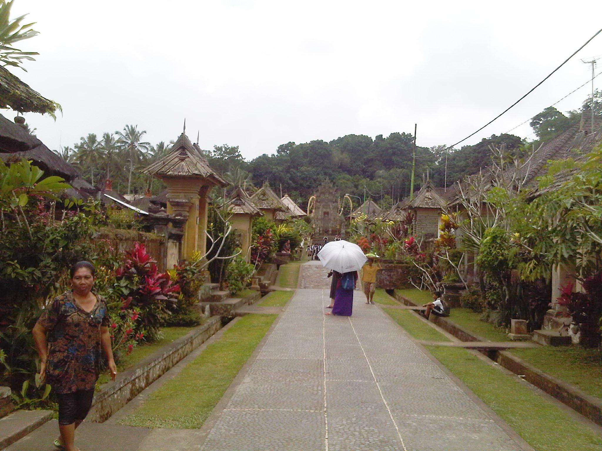 Penglipuran Desa Adat Bali Dengan Kearifan Lokal Yang