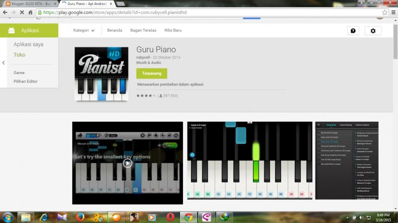 Belajar Piano Di Hp Android Kompasiana Com