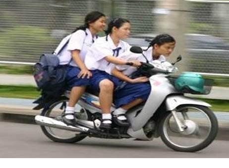 Perlukah Pelajar Membawa Kendaraan Pribadi Ke Sekolah Oleh Evi