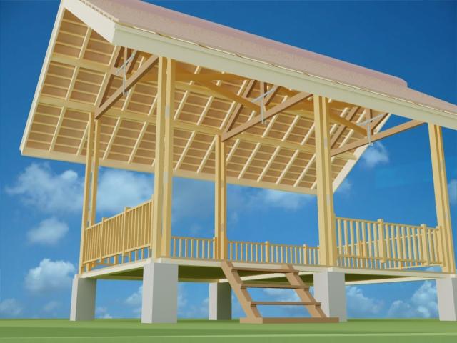 Desain Rumah Sederhana Konsep Bangunan Tahan Gempa Halaman All Kompasiana Com