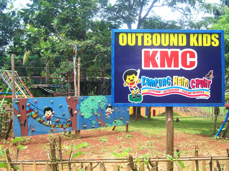 Rekreasi Murah Di Kampung Main Cipulir KMC Oleh Yusuf Dwiyono
