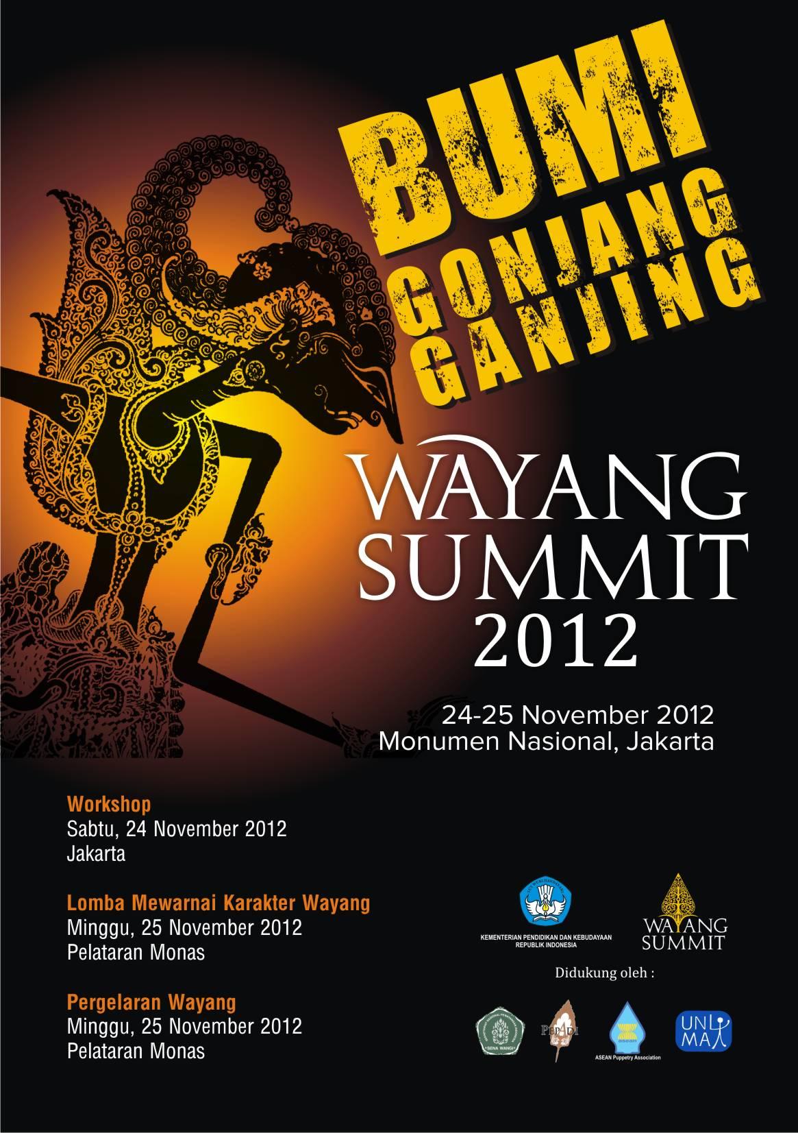 World Wayang Summit 2012 Di Monas Kompasiana