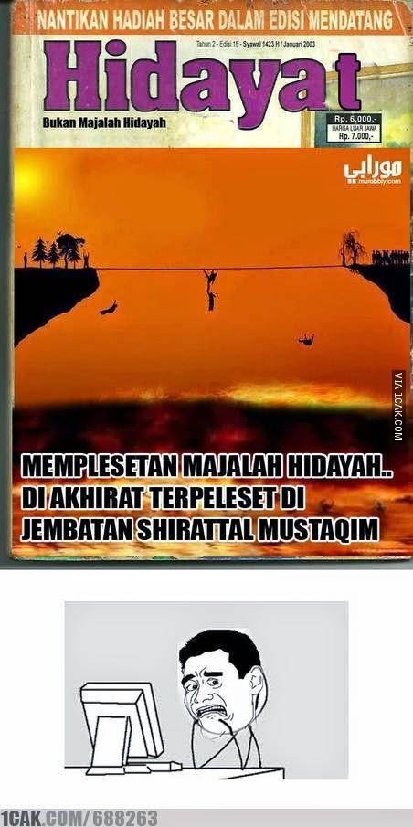 Meme Lucu Hidayah Kumpulan Foto Lucu Editan Majalah Hidayah Oleh Mohamad Ichan 034