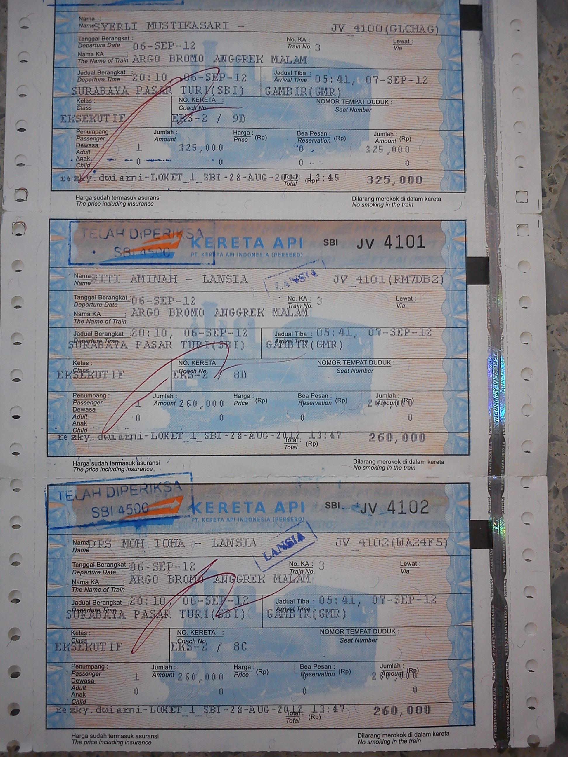 Sistem Boarding Pass Di Pt Kai Oleh Nurul Kartikaningsih