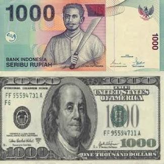 Kiat Mengubah 1 Rupiah Rp 1 Menjadi 10 000 Dolar 10 000 Kompasiana Com
