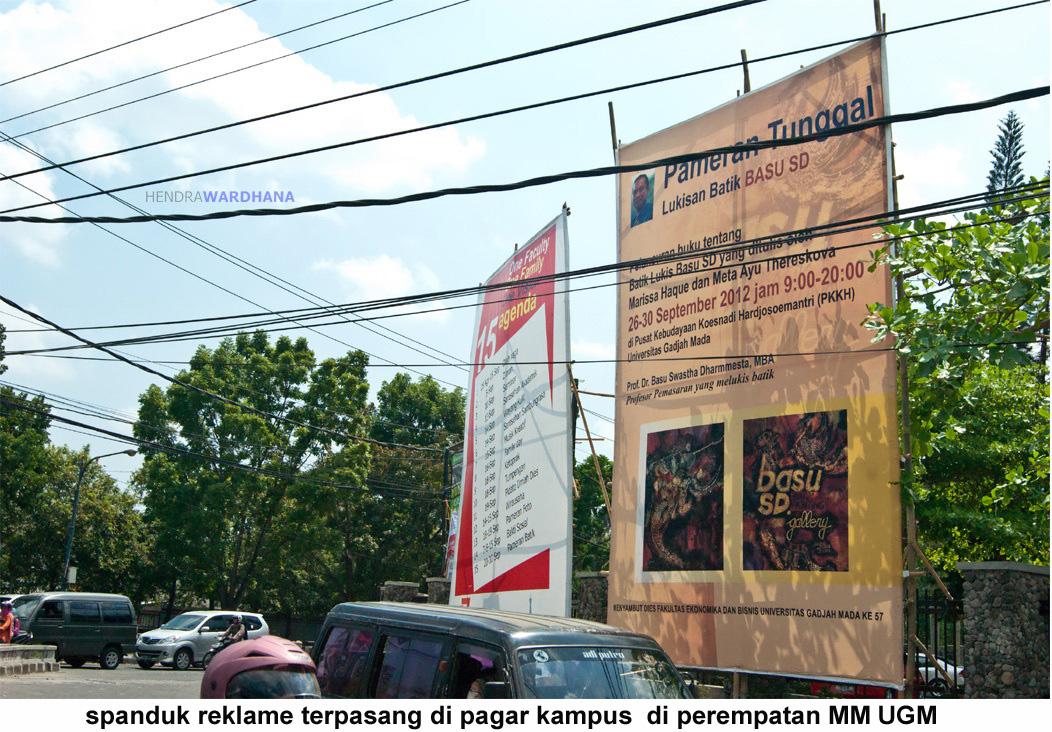 Reklame Modal Bambu Kampus Harusnya Memberi Contoh Baik