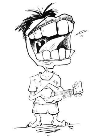 Sketsa Umar Kayam 34 Mister Blue Moon Oleh Mas Teddy Kompasianacom