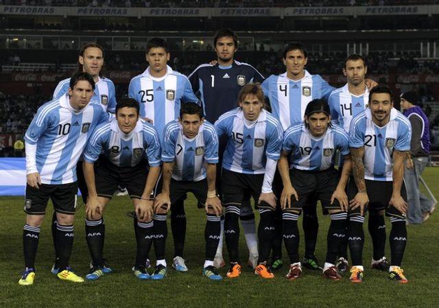 timnas ina tanding timnas argentina