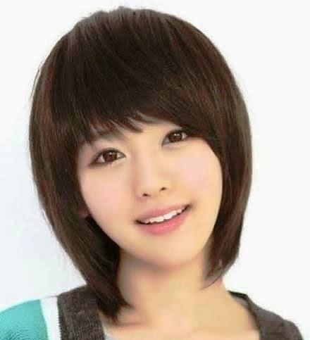30 Model Rambut Sebahu Terbaru Muka Bulat dan Kotak oleh Jiehan1 ... 8bd5c46217